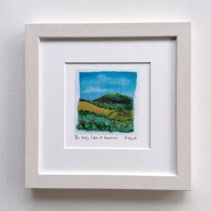 Barley Fields at Knocknarea Limited Edition Giclée Print by Alison Hunter